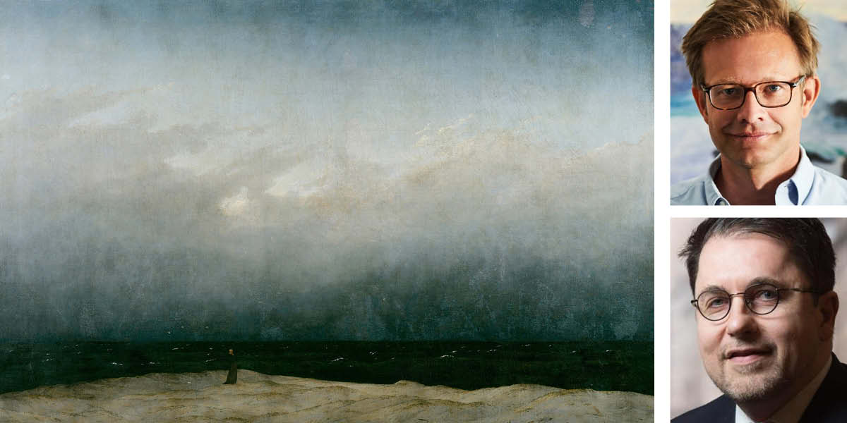 Photo: Patrick Bienert, dpa, Caspar David Friedrich