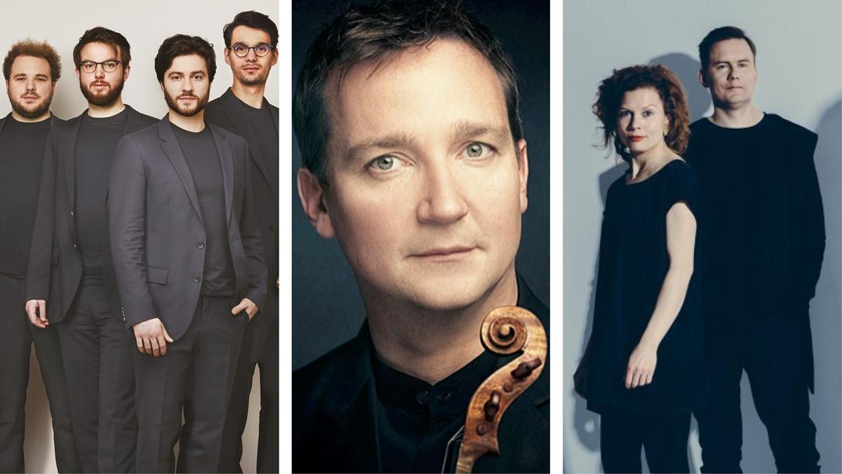 Photo: Hohenberg, Kuss Quartett, Ahonen